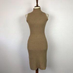 Moda International Turtleneck Sweater Dress